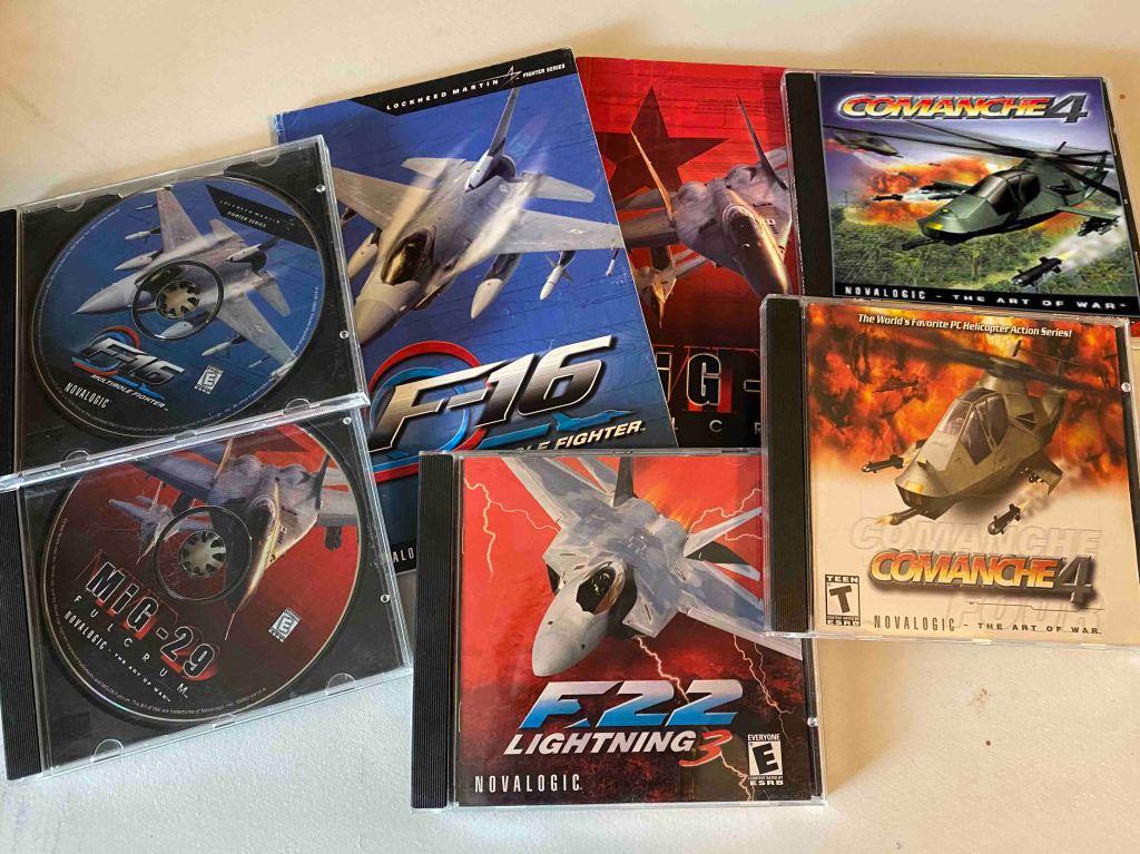 ألعاب حاكاة الطيران